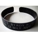 Custom order Black Aluminum  KIA Bracelet